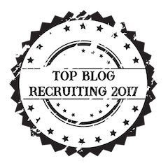 Siegel zum Top Recruiting Blog 2018