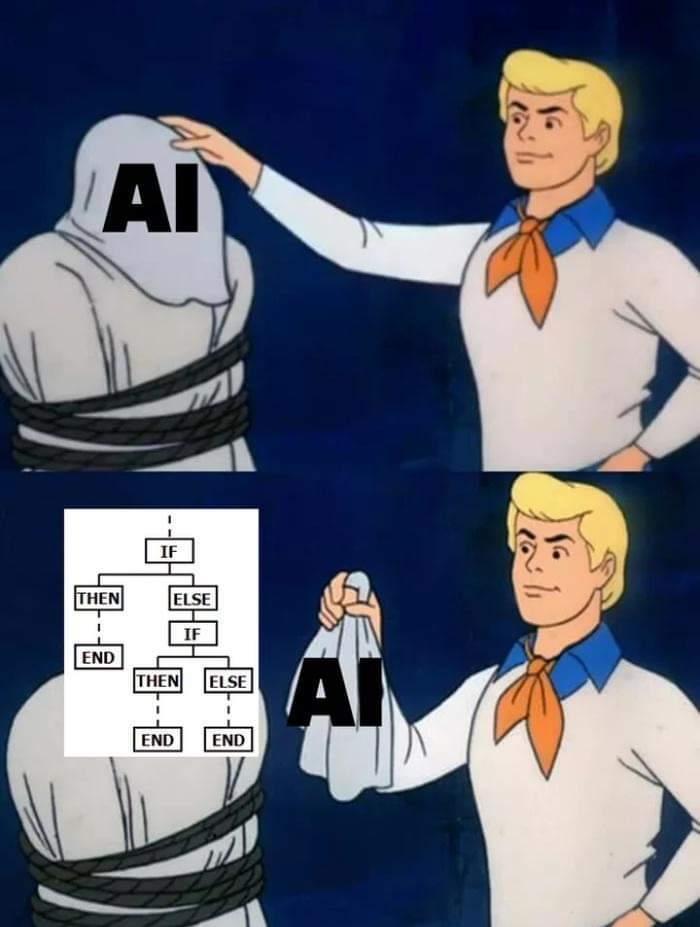 Meme einer fake KI