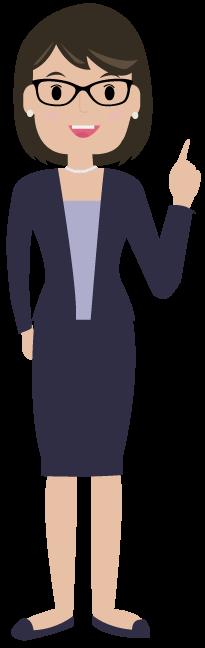 Illustrierte Frau