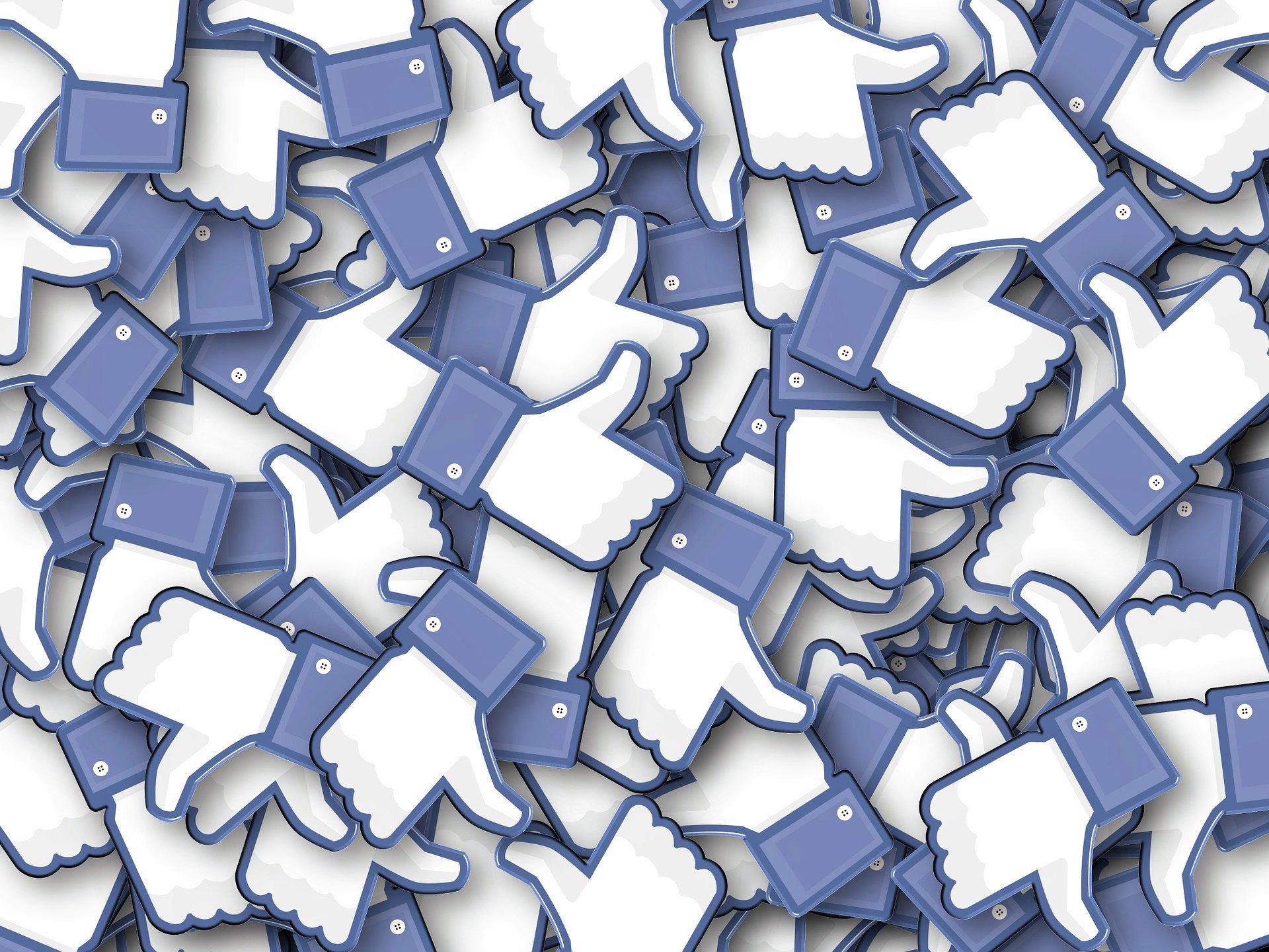 Viele Facebook Likes
