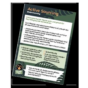 Active Sourcing HR monkeys