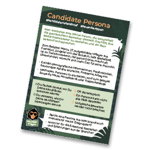 Candidate Persona HR monkeys