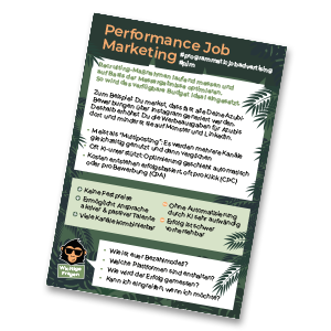 Performance Job Marketing HR monkeys