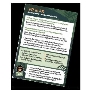 VR & AR HR monkeys