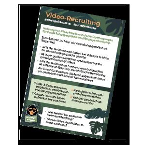 Video Recruiting HR monkeys