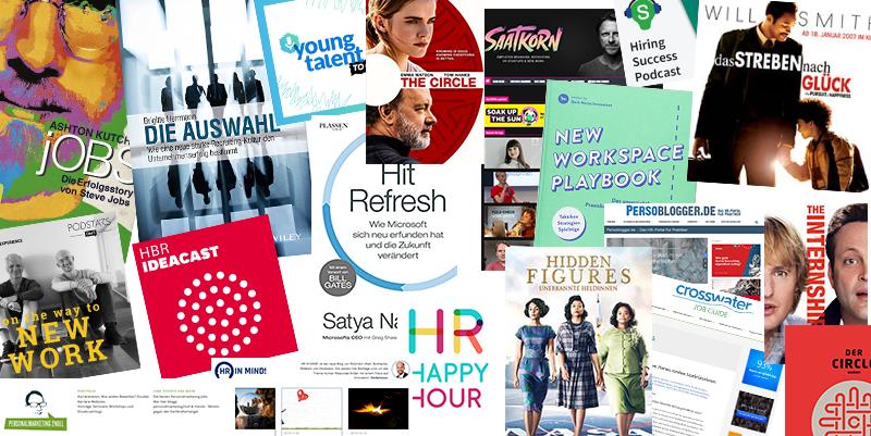 Filme, Bücher, Blogs & Podcasts für Personaler