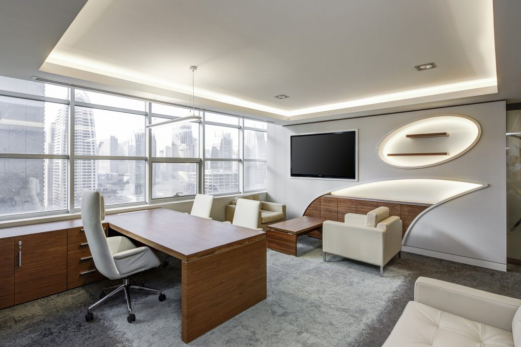 Büro der Zukunft